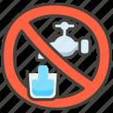 1f6b1, non, potable, water