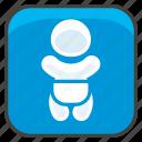 1f6bc, a, baby, symbol icon