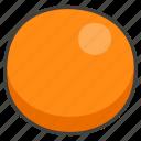 1f7e0, circle, orange icon