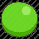 1f7e2, circle, green icon