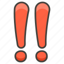 203c, double, exclamation, mark icon