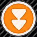 23ec, b, button, down, fast icon