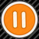 23f8, b, button, pause icon