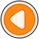 25c0, b, button, reverse icon