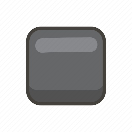 25fe, black, medium, small, square icon