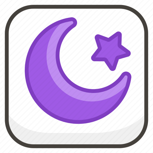 262a, and, b, crescent, star icon