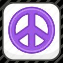 262e, b, peace, symbol icon