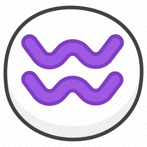 aquarius, b icon