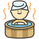 c, hot, springs icon