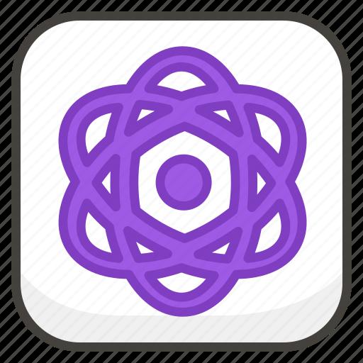 269b, atom, b, symbol icon
