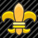 269c, de, fleur, lis icon