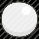 26aa, circle, white icon