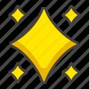 b, sparkle icon