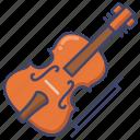 cello, instrument, music icon