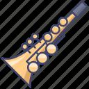 instrument, jazz, sax, saxophone icon