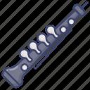 instrument, music, oboe icon