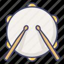 beat, drum, instrument, snare icon