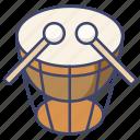 drum, instrument, music, timpani icon