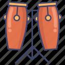 conga, drum, orchestra, percussion icon