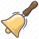 bell, bells, handbell, instrument icon