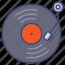 album, cd, music, vinyl icon
