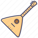 balalaika, instrument, traditional icon