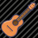 guitar, instrument, ukulele icon