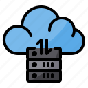 cloud, data, exchange, server, sync, transfer icon