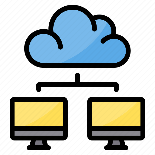 cloud, data, exchange, sync, transfer icon