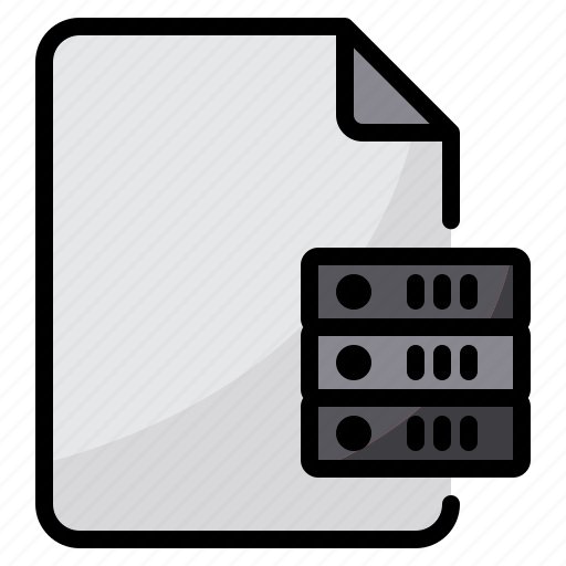 data, exchange, file, server, transfer icon
