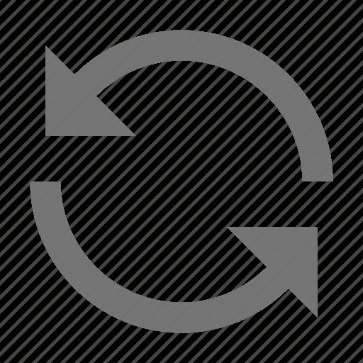 arrows, refresh, reload, sync icon