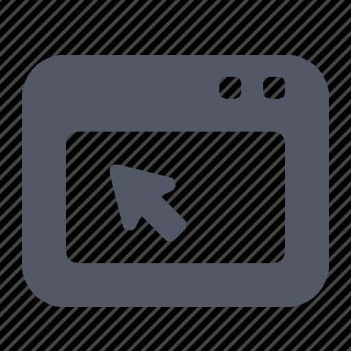 cursor, operating, system, website, window icon