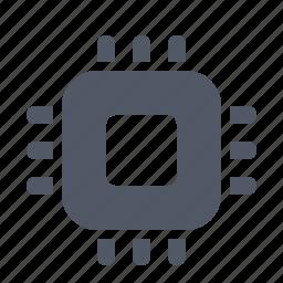 chip, computer, hardware, processor, silicone icon