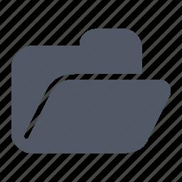 access, directory, folder, open icon