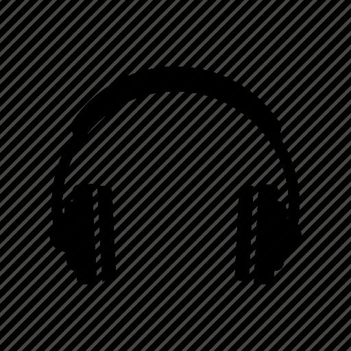 audio, headphone, music, system, ui icon
