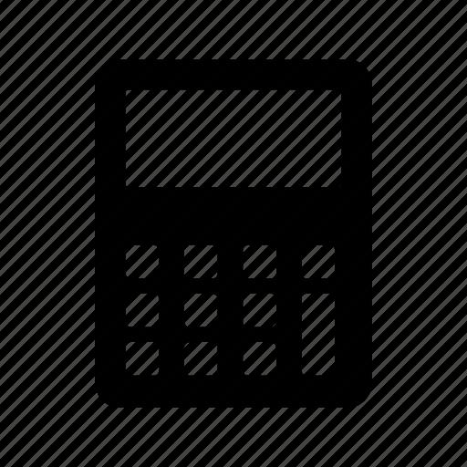 calc, calculator, maths, system, ui icon