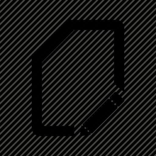 doc, document, edit, system, ui icon
