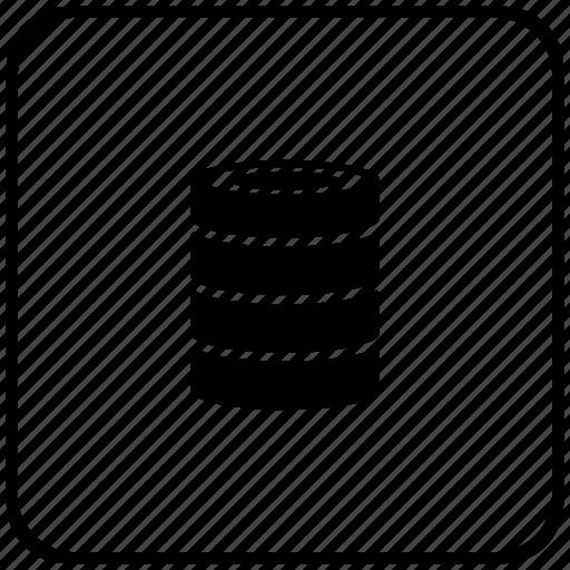 bank, data, function, info, key, storage icon