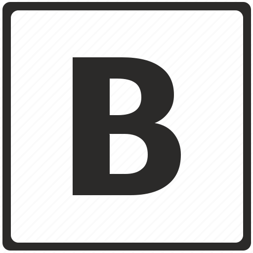 bold, bolder, edit, editor, format, text icon