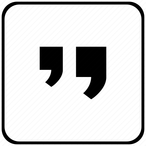 comma, edit, function, key, quote, text icon