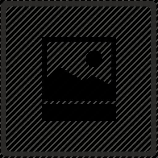 editor, format, image, img, paloroid, photo icon