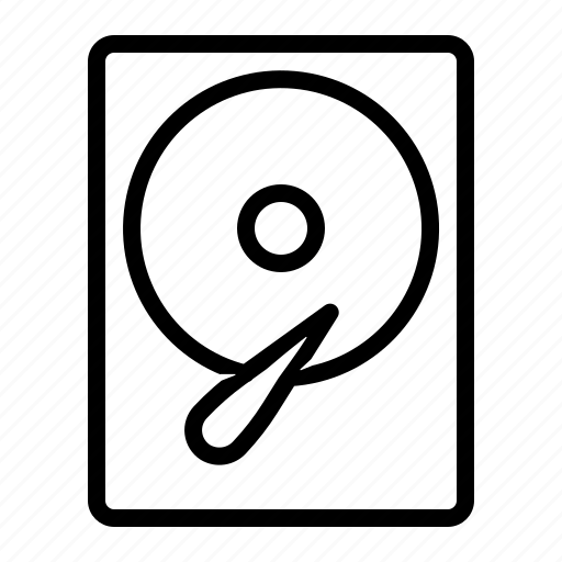 data, disk, drive, hdd icon