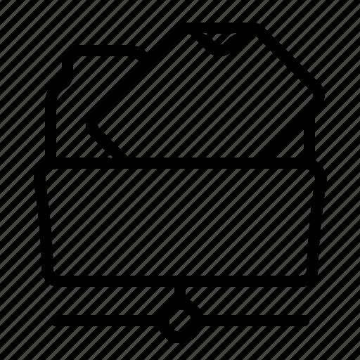 file, folder, ftp, net icon