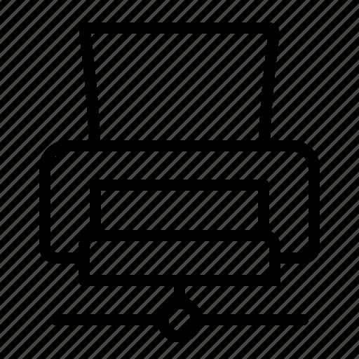 ftp, net, print, printer icon