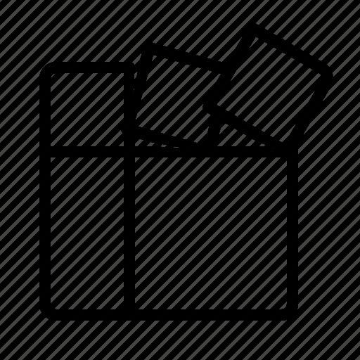 defragment, geometry, register, storage icon