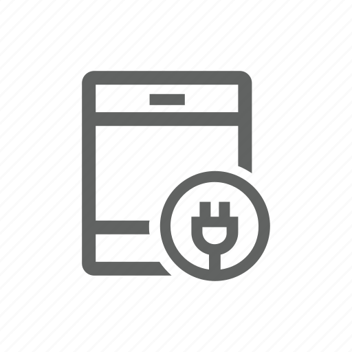 battery, charge, charger, ipad, tablet icon