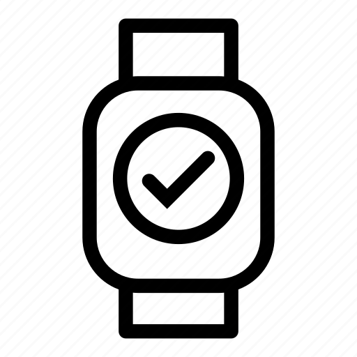 check, device, mobile, monitoring, smart, technology icon