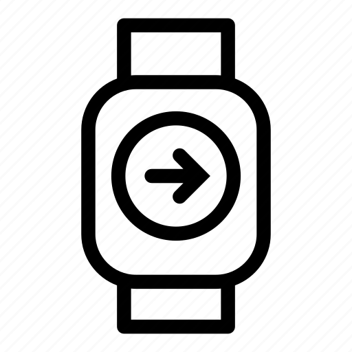 app, device, mobile, monitoring, right, smart, technology icon