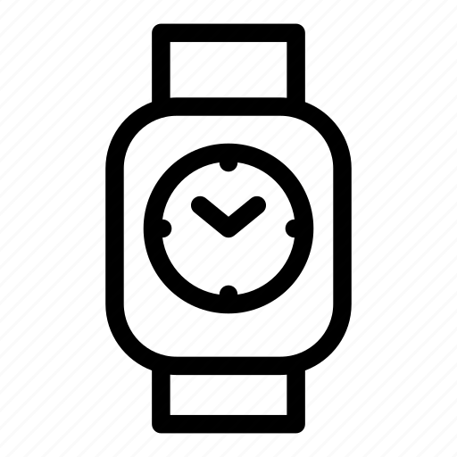 clock, device, mobile, monitoring, smart, technology icon