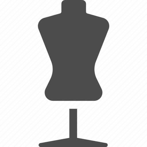 dressmaking, fashion, mannequin, model, sewing, tailor icon